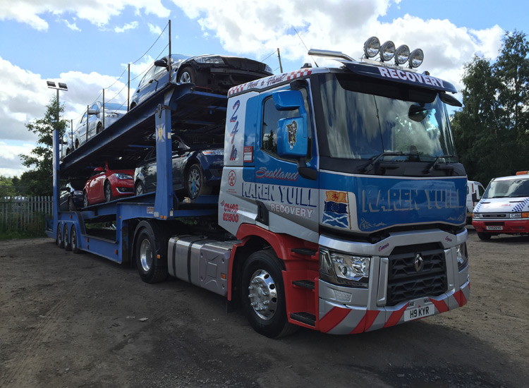 Light and Heavy Vehicle Recovery Lanarkshire | KYR Recovery